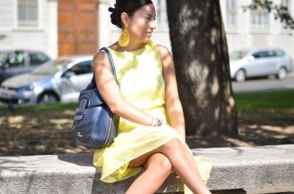 outfit-yellow-dress-nfw-fashion-blogger