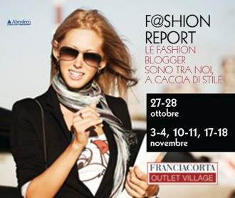 Franciacorta Outlet Village F@shion reporter tipe two