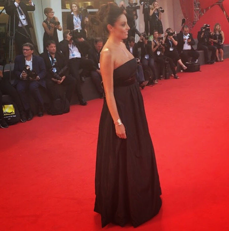 venezia 71 red carpet con l'oreal paris