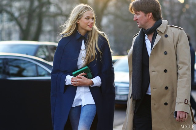 Gabriella-Wilde-and-Tom-Hooper-by-phil-oh-lfw-street-style-fashion-blogger