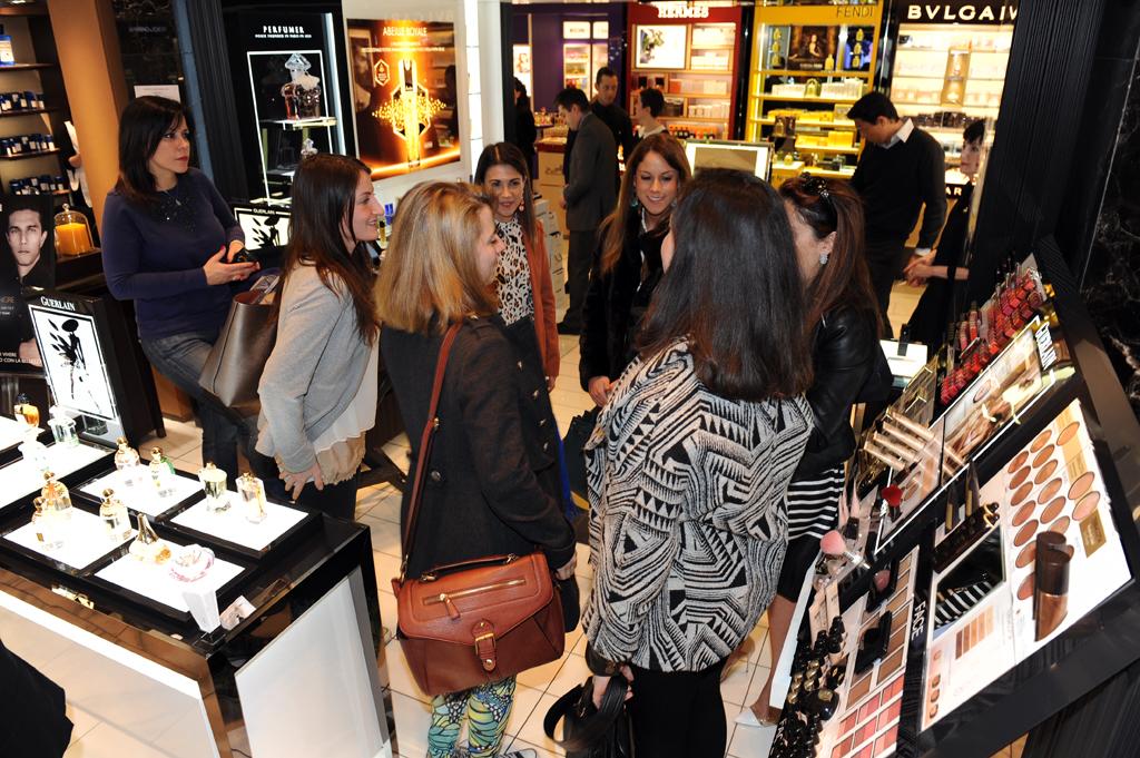 evento-Guerlain-Raynald-Lehongre -la-rinascente-terracotta-valentina-coco-fashion-blogger