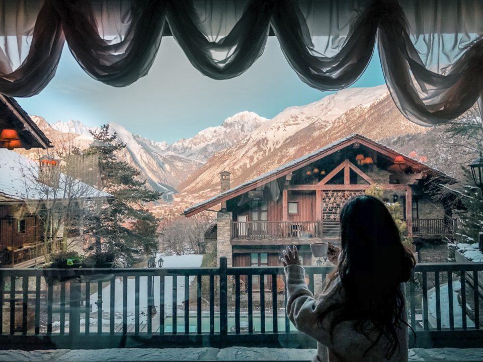 Vacanze sulla Neve in Val D'Aosta al Mont Blanc Hotel Village
