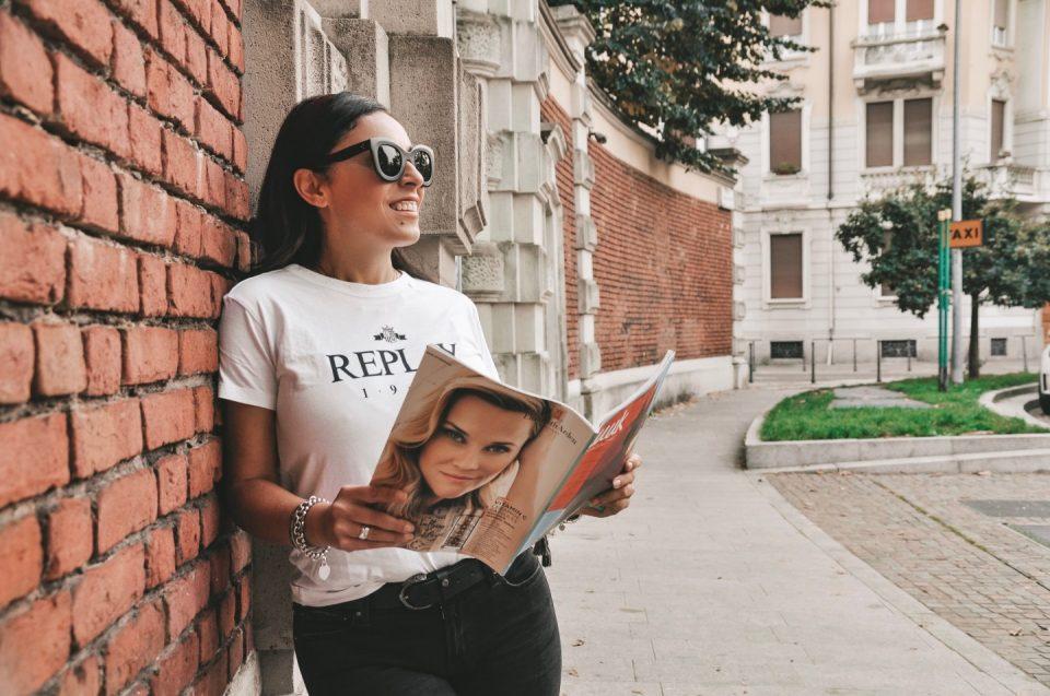 T-shirt da donna per un look super trendy con Replay